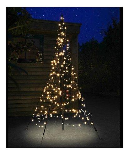 fairybell led weihnachtsbaum 300 led warmwei 2m au en kaufen. Black Bedroom Furniture Sets. Home Design Ideas