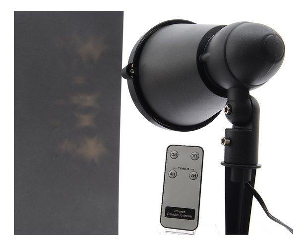 kaemingk led hauswand projektor sterne mit timer au en. Black Bedroom Furniture Sets. Home Design Ideas