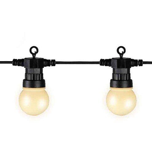 kaemingk party lichterkette verl ngerung au en 20 led wei. Black Bedroom Furniture Sets. Home Design Ideas