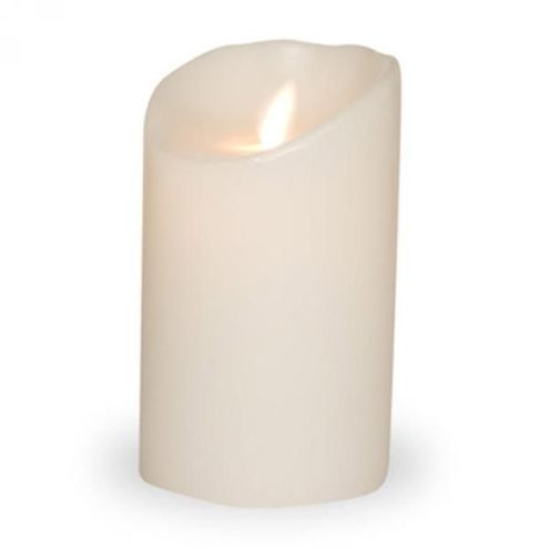 sompex led kerze flame wei 8 x 12 5cm timer und fernbedienbar kaufen. Black Bedroom Furniture Sets. Home Design Ideas