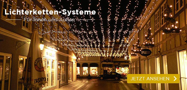 Profi Lichterketten-Systeme