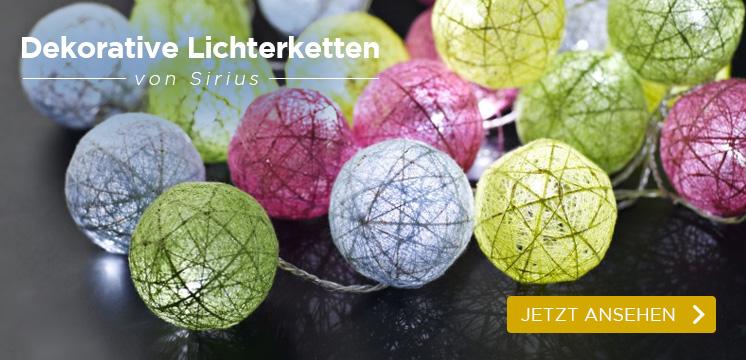 Sirius LED Lichterkette Bolette