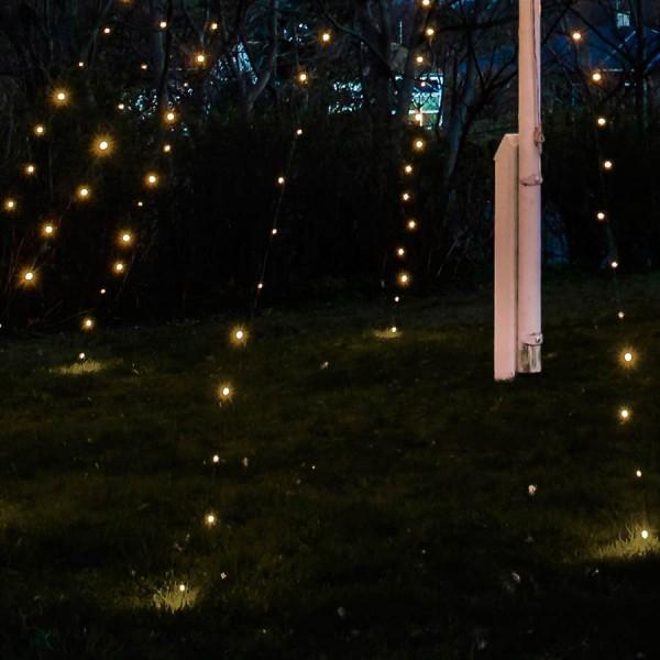 Led lichterkette david von sirius jetzt kaufen for Fahnenmast lichterkette