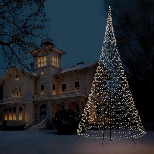 Lichtervorhang au en 10m weihnachten led lichternetz for Lichtervorhang weihnachten